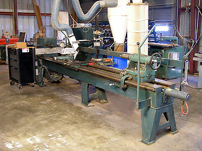 """Oliver CNC Wood Lathe with 3 servo controled axis and up to 120"""" between centers"""