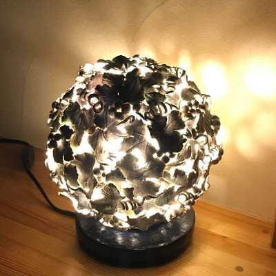 Antique paper clay grape shaped lamp Japan retro popular rare beautiful EMS F/S!