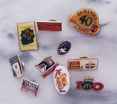 McDonald's collectible pins '90s vintage lot