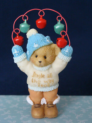 "Cherished Teddies - Bear w/Jungle Bells - ""Dated 2006"" - 4005475"