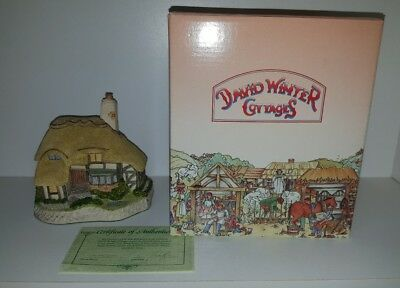 DAVID WINTER ASHE COTTAGE w/ COA Original BOX No.16 John Hine Ltd 1994