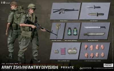 Dam Toys PES004 1/12 Pocket Elite Series ARMY 25th Infantry Division Private