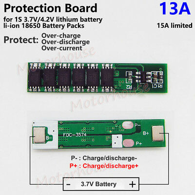 6-12A 3.7V PCB BMS Protection Board for 18650 Li-ion Lithium LiPo Battery CellJM
