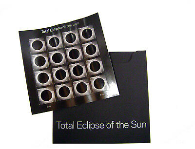 Scott #5211 - USPS New Total Eclipse of the Sun Stamps w/Envelope - Pane of 16