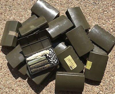 One (1) German Military Surplus G3 Field Cleaning Kit, 5 Piece, Complete