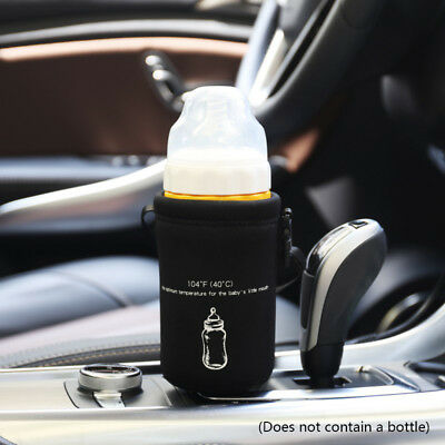 12V Car Electric Infant Baby Bottle Warmer Heater Bag Milk Food Coffe Sterilizer