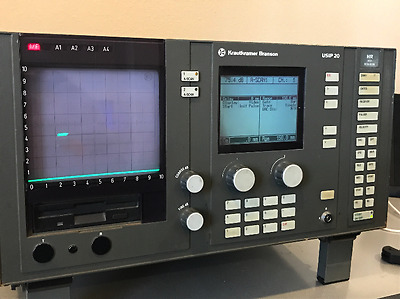 Krautkramer Branson USIP 20 Ultrasonic Flaw Detector (Not Working)