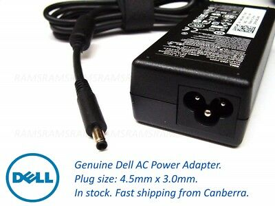 New Genuine Dell Laptop 65 watt 19.5V AC Power Adapter Charger