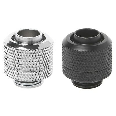 """G1/4 3/8""""ID X 1/2""""OD Tubing Hand Compression Fittings 9.5x12.7mm Water Cooling"""