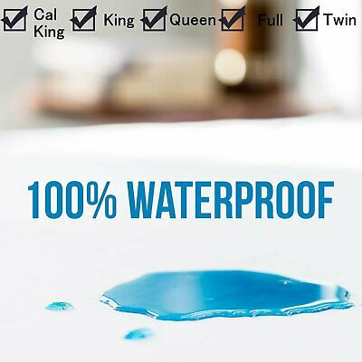 Hypoallergenic Waterproof Mattress Protector Fitted Premium by Utopia Bedding