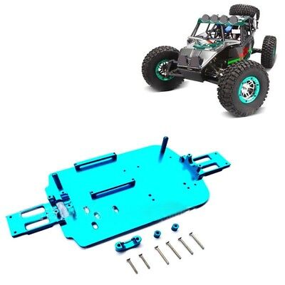 Upgrade Metal Chassis Car Bottom for 1/18 RC Cars WLtoys A949 A969 A979 K929  GW