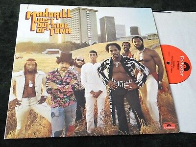 Mandrill Orig Usa Lp Nm Just Outside Of Town Funk |63