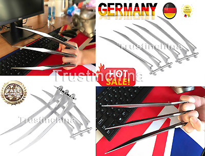 2Pcs New X-Men Wolverine Blade Claws High Quality of Refinement DE FAST SHIP!