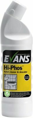 Evans Hi-Phos Toilet Cleaner & Descaler 1 Litre