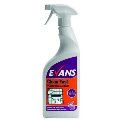 Evans Clean Fast Heavy Duty Washroom Cleaner 750ml
