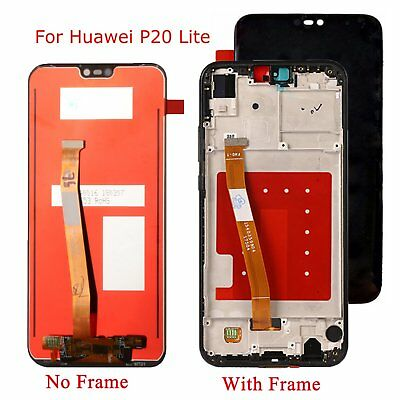 LCD Display +Touch Screen Digitizer Assembly Repair Pairs for Huawei P20 Lite
