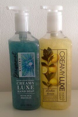 "Bath & Body Works Creamy Luxe Seife ""Bergamot Waters & Kitchen Lemon"""