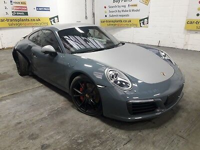 2016 Porsche 911 *BREAKING* Engine Gearbox Door Lamp Seats Bumper Mirror Spoiler
