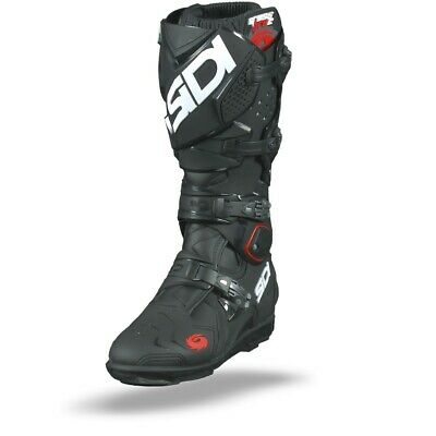 Sidi Crossfire 2 SRS Black MX Motocross Motorcycle Boots - Free Shipping