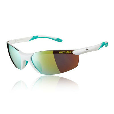 Sunwise Unisex Breakout Sunglasses - White Sports Running Water Resistant