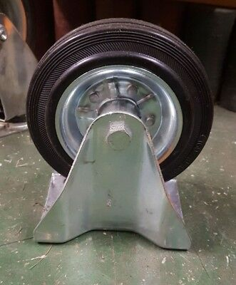 160Mm Caster Wheel (Rubber) New