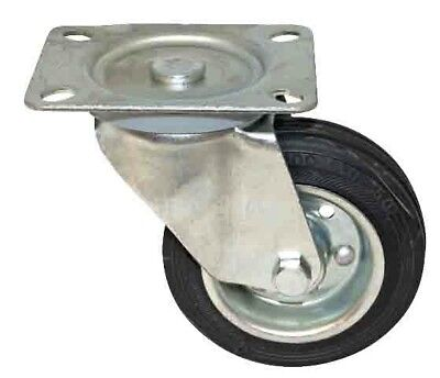 "3"" Swivel Caster Wheel (Rubber) New"