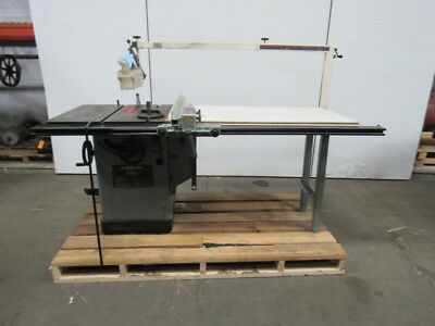 """Delta 34-806 10"""" Unisaw Tilting Arbor Table Saw 5hp   230/460   3 Phase"""