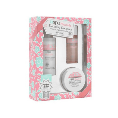 Nirvana Spa NSPA Mum to be Blooming Gorgeous Skincare for Pregnancy GIFT SET
