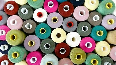 25 X 1000m Branded Polyester Cotton Thread No.120 - Coats Polysew Sewmaster