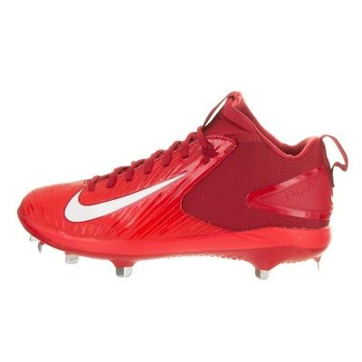 eb0ab2cb1b NEW MENS NIKE Force Trout 3 Pro Baseball Cleats Metal Red White Size 8 M -   34.99