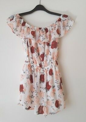 dc4efcc322 H M FLORAL PLAYSUIT. uk 12. great condition. summer holiday 90s ...