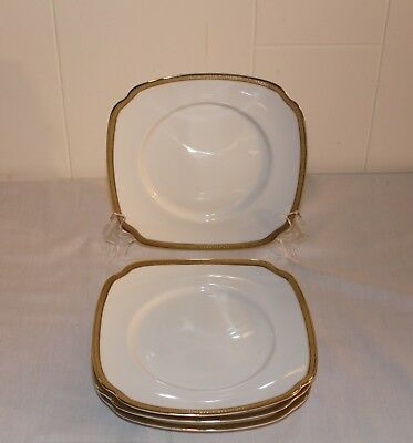Charter Club Grand Buffet Gold Square Salad Plates Set Of 4