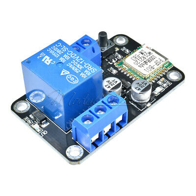 DC 12V Smart Wifi Self-lock Switch Relay Delay Module ESP8285 by APP IOS Android
