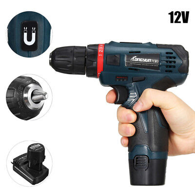 1/2 SPEED CORDLESS DRILL DRIVER, ELECTRIC SCREWDRIVER WITH 99PCS Of DRILL BITS