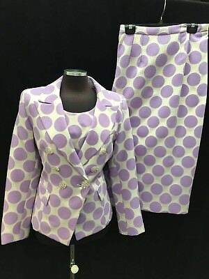 "Lily&taylor Skirt Suit/size 20/new With Tag/skirt Length 42""/lined/tank Included"