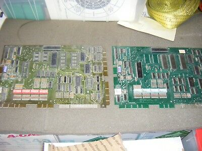 2 - Gottlieb System 80 Pinball MPU Boards, Untested for Parts or Repair