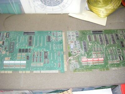 2 - Gottlieb System 80B & 80 Pinball MPU Boards, Untested for Parts or Repair