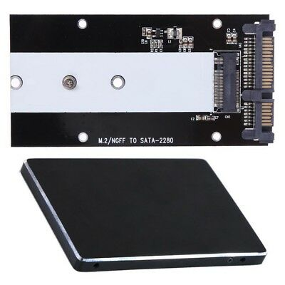 "B Key M.2 NGFF SSD to 2.5"" SATA 3.0 Converter Adapter Card 2230 2242 2260 2280"