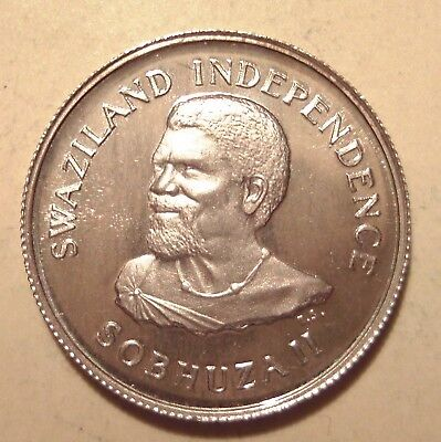 Swaziland ★★★ 20 Cents 1968 ★★★ Silber 207