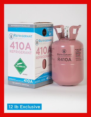New Virgin R410a 12lb Exclusively From Refrigerant For Less LOWEST PRICE ON EBAY