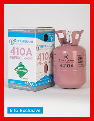 New Virgin R410a 5 lb Exclusively From Refrigerant For Less LOWEST PRICE ON EBAY