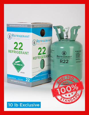 New Virgin R22 10 lb Exclusively From Refrigerant For Less LOWEST PRICE ON EBAY
