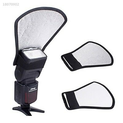 New Universal Camera Flash Reflector Photo Bounce Card Diffuser Accessories A848