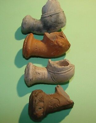 Ancient Cossack warrior tobacco smoking pipe.15 - 17 century. Ceramics.Original.
