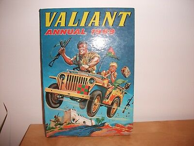 Valiant Annual 1969 Collectable Vintage
