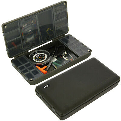 NGT Fishing Terminal Tackle XPR Compact Secure Box System for Shot Hooks Line
