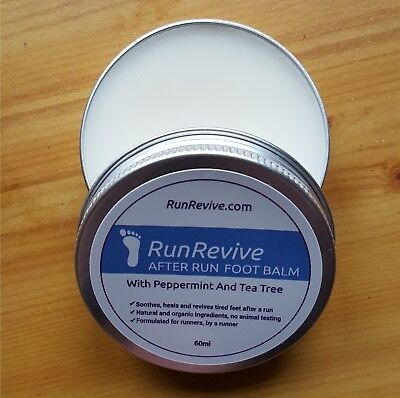 RunRevive After Run Foot Balm - Soothes Feet After Running - Gift For Runners