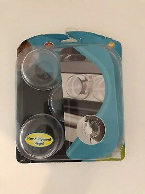 Baby Home Safety 1st Clear View Stove Knob Covers Set of 5 NEW
