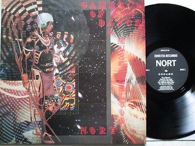 NORT: Games Of Dance & Muscleblood LP - UK 1988 EDIESTA electro/EBM/industrial