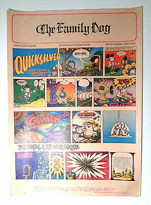FD 89 OP-1 Family Dog Quicksilver Mess Service Sons of Champlin Taj Mahal Poster